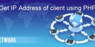 get ip-address using php