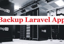 How to backup your laravel app and database?