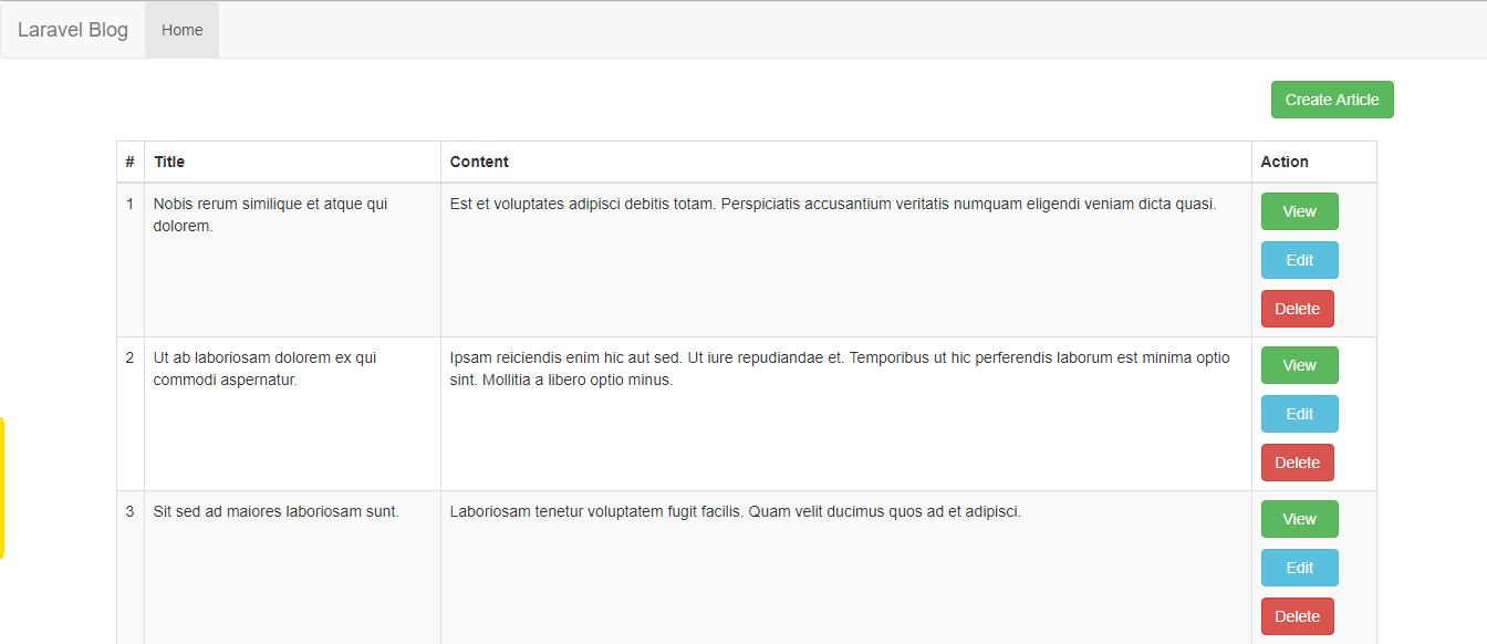 Laravel 5 7 CRUD example from scratch - Kodementor
