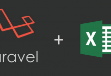 laravel-excel import and export