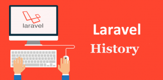 release history of laravel