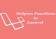 laravel helper functions