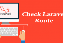 How to check current URL in Laravel 5